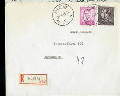 Doc. De JABBEKE - A A - Du 25/04/66 En Rec. ( E ) - Postmark Collection