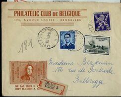 Doc. De IXELLES - ELSENE  - C 3 C - Du 13/11/53 En Rec. ( E ) - Postmark Collection