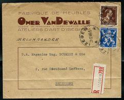 Doc. De IZEGEM - A A - Du 05/02/46  En Rec. ( E ) - Postmark Collection