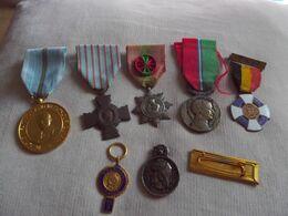 Lot De 7 Médailles Diverses - Médailles & Décorations