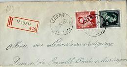 Doc. De IZEGEM - D D - Du 24/05/54  En Rec. ( E ) - Postmark Collection
