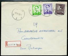 Doc. De IZEGEM - B 2 B - Du 03/11/70 En Rec. ( E ) - Postmark Collection