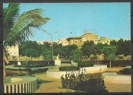 SAUDI ARABIA POSTCARD ,VIEW CARD THE POETS GARDEN JEDDAH - Arabie Saoudite