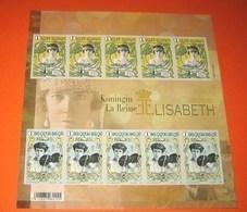 4520/21 Ongetand Koningin (La Reine -Queen) Elisabeth NON DENTELE!! (50ème Anniversaire Du Décès De La Reine Elisabeth) - Belgien
