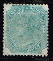 Indien 1866, Michel# 24 (*) - India (...-1947)