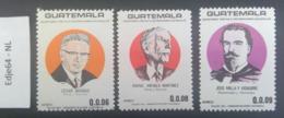 Guatemala 1987 Persoonlijkheden - Guatemala