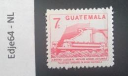 Guatemala 1987 Frankeerzegel Cultuurcentrum - Guatemala
