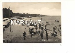 M9535 CALABRIA REGGIO LIDO 1955 CARD VIAGGIATA - Reggio Calabria
