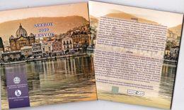 "Greece EURO Official BU Set 2020"" LESVOS"" ""free Shipping Via Registered Air Mail"" - Grèce"