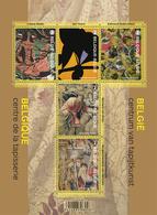 Blok 222** Wandtapijten. België Centrum Van Tapijtkunst 4469/73** Belgique Centre De La Tapisserie - Bélgica