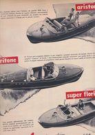 (pagine-pages)PUBBLICITA' CANTIERI RIVA  Tempo1959. - Autres