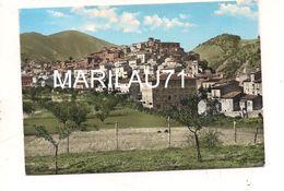 M9540 ABRUZZO VILLALAGO L'AQUILA ACQUARELLATA 1961 CARD VIAGGIATA - Italie