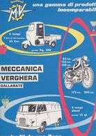 (pagine-pages)PUBBLICITA' MV AGUSTA  Tempo1959. - Autres