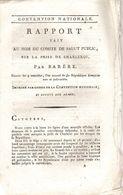 Rapport De Barrére Sur La Bataille De Charleroi 1792 - Documents Historiques