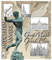 Blok 219** De Antwerpse Grote Markt 4440/44** / La Grand Place D'Anvers - Bloques 1962-....