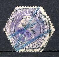BELGIQUE - 1871-88 - Timbres Télégraphe - N° 3 - 10 C. Violet - (Léopold II) - Telegrafo