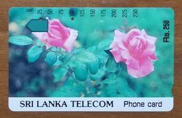 SRI LANKA SCHEDA TELEFONICA - Sri Lanka (Ceylon)