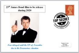 2020 25th James Bond Film Pierce Brosnan 007 Cars Spy Cinema Films - Other