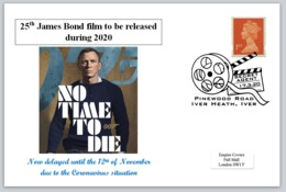 2020 25th James Bond Film Daniel Craig 007 Spy Cinema Films - FDC