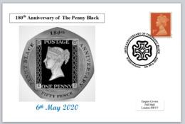 2020 180th Anniversary Penny Black Philatelic Postal Maltese Cross - Other