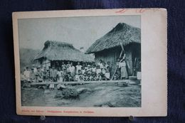 R-109 / Missiën Van Scheut - Philippijnen. Dorpshutten Te Patikian - Philippines