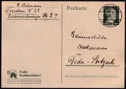 DR. Ganzsache P 311  Gestempelt. - Unclassified