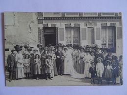 CPA  Photo De Mariage Jour De Noces En Famille  19..  TBE - Photographie