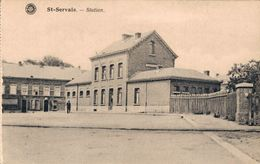 Saint Servais Gare - Namen