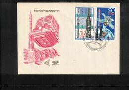 Germany / Deutschland DDR 1978 Intercosmos Programme Interesting Letter - Concorde