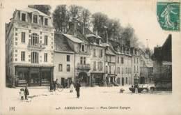 AUBUSSON PLACE GENERAL ESPAGNE LA BOUCHERIE SOURIOUX - Aubusson