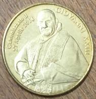 ITALIE GIOVANNI XXIII MEDAGLIE E PATRIMONIO SANS DATE MEDAILLE SOUVENIR JETON TOURISTIQUE MEDALS COINS TOKENS - Italie