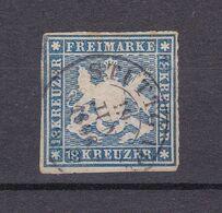 Württemberg - 1861 - Michel Nr. 20 Fälschung - Gestempelt - Wurttemberg