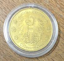 AUTRICHE WIEN AUSTRIAN HERITAGE MEDAILLE SOUVENIR SANS DATE JETON TOURISTIQUE MEDALS COINS TOKENS - Entriegelungschips Und Medaillen