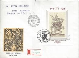 HUNGARY-1979.FDC S/S - Albrecht Dürer, Painter / Etching By Dürer USED!!!  Mi.Bl.136. - FDC