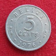 Belize 5 Cents 1976 KM# 34a  Beliz Belice - Belize