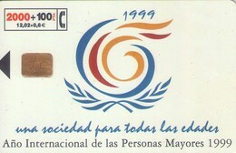 TARJETA TELEFONICA DE ESPAÑA USADA. 06.99 (277). - Espagne