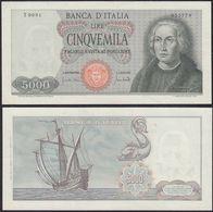 ITALIEN - ITALY - 5000 Lire Banknote 1964/1970 - Pick 98c XF+ (2+)   (21217 - Non Classificati