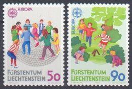 1989Liechtenstein960-961Europa Cept - 1989
