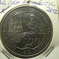 British Antartic Territory 2 Pounds 2012 - Monedas