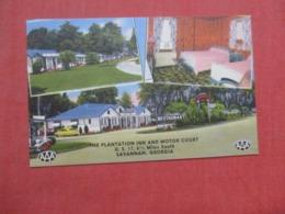 - Georgia >  Plantation Inn & Motor Court   6 1/2 Miles South Of Savannah    Ref 4264 - Savannah