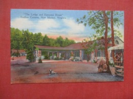 The Lodge & Entrance House  Endless Caverns  New Market  Virginia    Ref 4265 - Etats-Unis