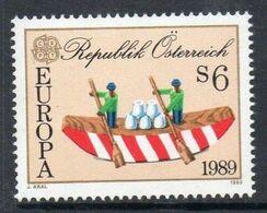 1989Austria1956Europa Cept / Boats - Europa-CEPT