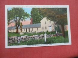 Nathan Hale Birthplace  South Coventry Connecticut   Ref 4265 - Etats-Unis