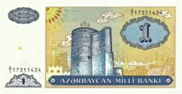 Azerbaijan - 1 Manat - ND ( 1993 ) - Pick 14 -  Serie A/1 - Azerbeidzjan