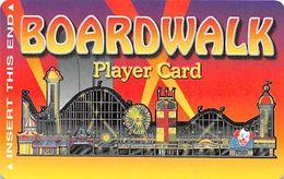 Boardwalk Casino Las Vegas, NV - Manufacturing Error Slot Card Missing Mag Stripe - Carte Di Casinò