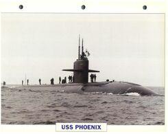 (25 X 19 Cm) C - Photo And Info Sheet On Warship - USS Nebraska (Submarine) - Bateaux