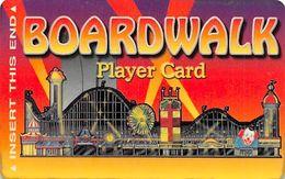 Boardwalk Casino Las Vegas, NV - Manufacturing Error Slot Card Totally Blank Reverse - Carte Di Casinò