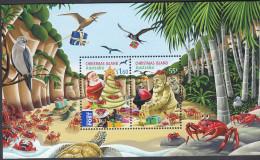 CHRISTMAS Is, 2012 XMAS MINISHEET MNH - Christmas Island