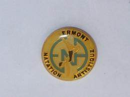 Pin's ERMONT NATATION ARTISTIQUE - Nuoto