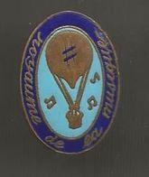 Insigne , ROYAUME DE LA MUSIQUE , Arthus Bertrand , Paris , Frais Fr 1.85 E - Altri Oggetti